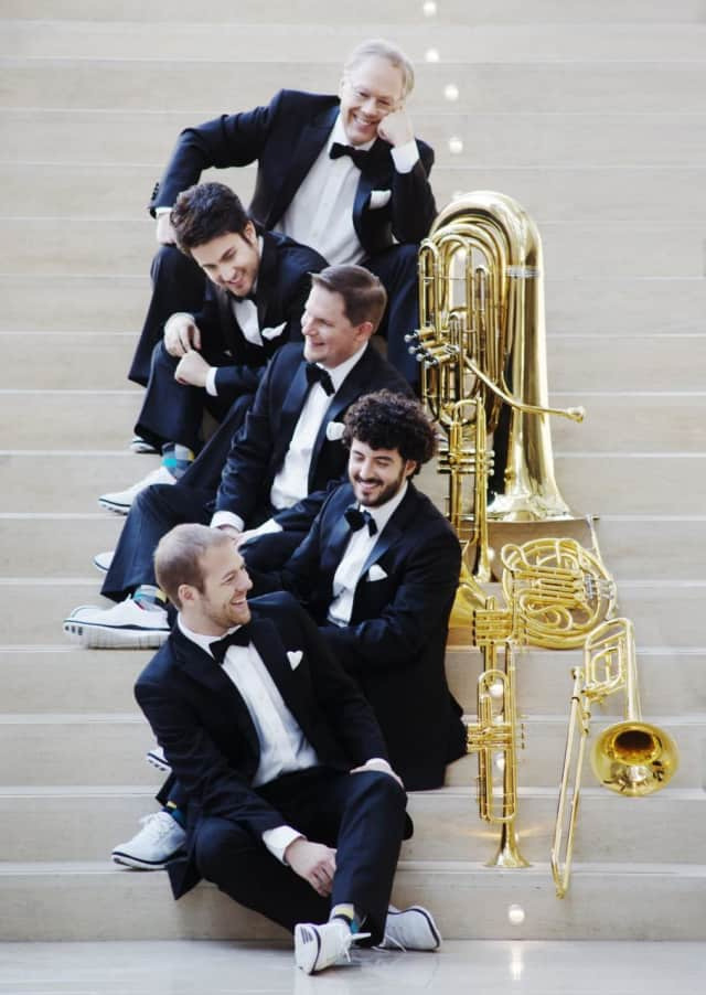 The Canadian Brass will perform Friday at Concordia College.
