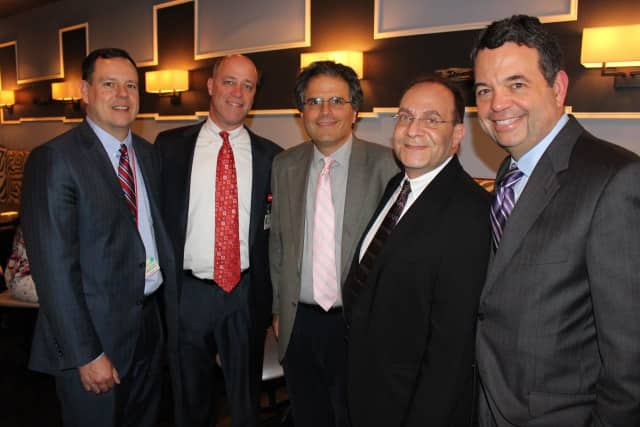 Dr. John Evanko, chief medical officer, Michael Fosina, president/CEO, Dr. Gary Tannenbaum, vascular surgery, Dr. Miguel Silva, general/bariatric surgery, Dr. Nicholas Tsamparlis, internal medicine, Jessica Jessica Rosen, senior account manager