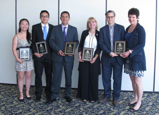 The New Rochelle Council of Community Services honored two citizens and one area business, and awarded two college scholarships during its annual luncheon on June 9.