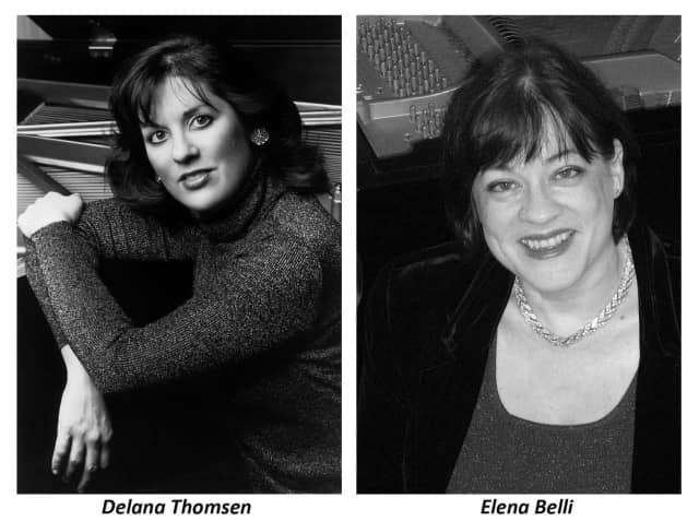 The HB Artist Series will welcome Pianists Delana Thomsen and Elena Belli.