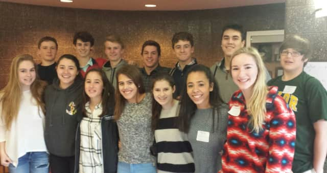 Bronxville High School sophomores participated in college-level writing workshops at the Putnam/Northern Westchester BOCES sponsored 2016 Young Authors Conference in Valhalla.