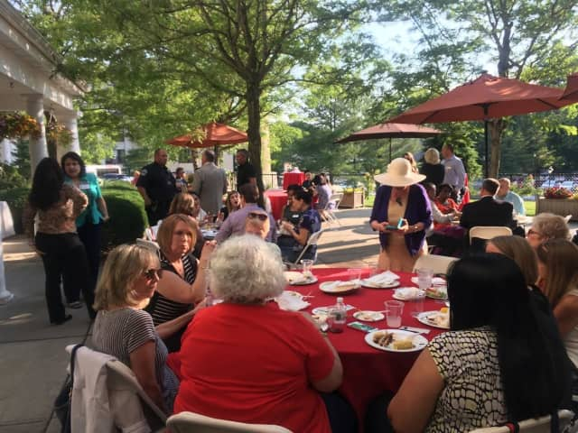Area professionals recently celebrated the 15th anniversary of RiverVue.