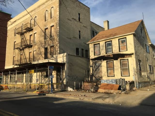 """An abandoned home was razed recently on Fifth Avenue in Mount Vernon, the most recent one to be torn down on the new mayor's watch. The state will be awarding $13 million in grants to help municipalities fight the growing problem of """"zombie"""" homes."""