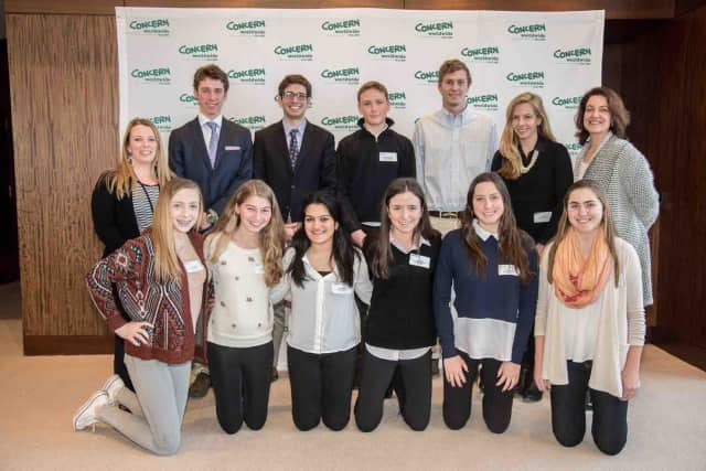 Bronxville High School students worked on finding short- and long-term solutions to climate change when they attended Global Concerns Classroom's annual Global Youth Summit on Climate Impact in New York City.