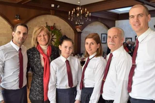 Staff at Dubrovnik Restaurant in New Rochelle.