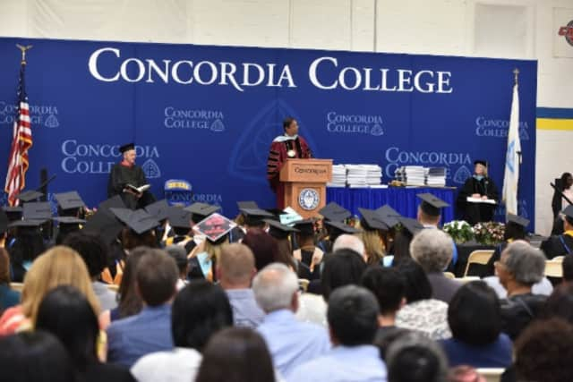 Concordia College held commencement ceremonies on Saturday.