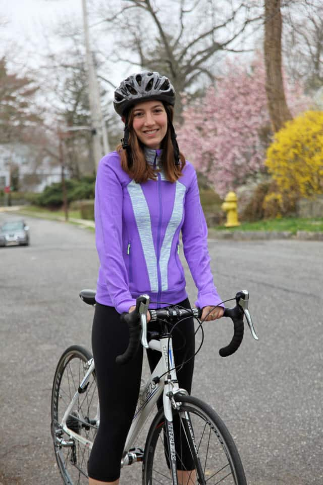 Larchmont resident Natalie Teboul plans to bike 900 miles this summer.