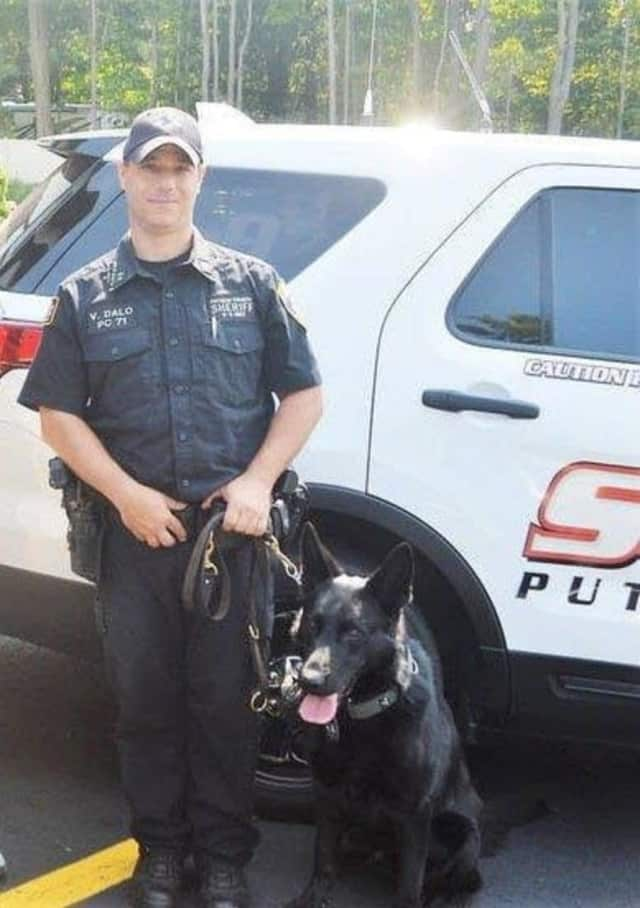 Deputy Sheriff Vincent Dallo and K-9 Officer Lex