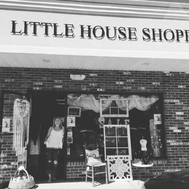 Christy Kinsman, owner of The Little House Shoppe in Ridgefield.