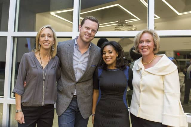 Elise Bates, Willie Geist, Sheinelle Jones, Kim Hall at the Nov. 7 fundraiser.