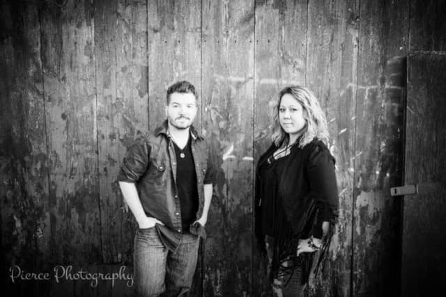 Tina Marie and Andrew Gallagher of Whiskey Crossing.