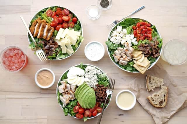 Salads are king at Chopt.