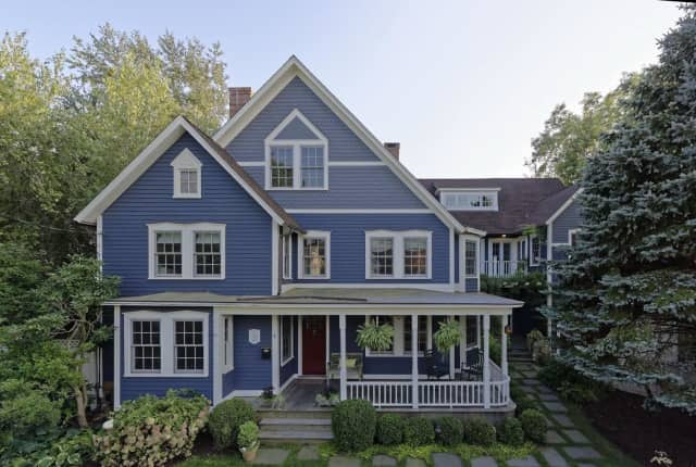 The house at 6 Logan Place in Rowayton is available for $2.95 million.