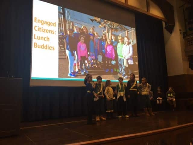 Bronxville Elementary School students were celebrated at a pair of recent assemblies.