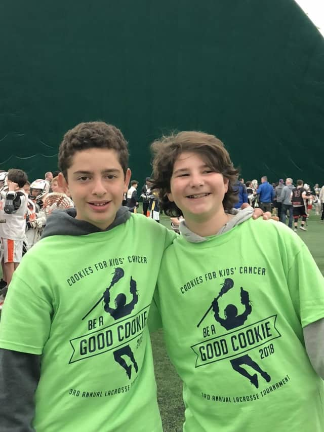 "Sam Rosenberg and Evan Phillips hosted the fourth annual ""Good Cookie"" Lacrosse Tournament."