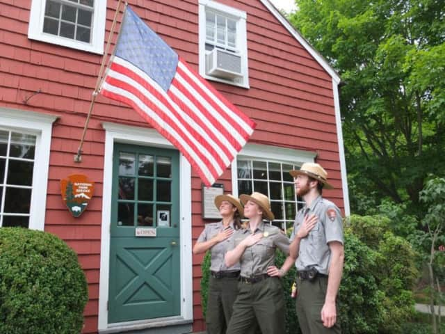 Weir Farm National Historic Site on the Ridgefield/Wilton border will be open Saturday.