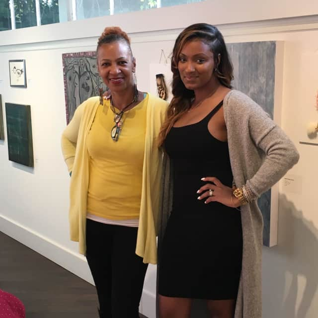 Mother/daughter duo Janice Harding, left, and Ginghi Clarke, right, of the new INSPO Boutique in Pelham.