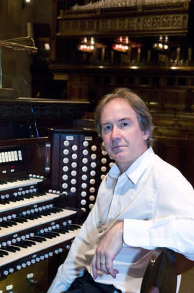 Sándor Szabó, minister of music/organist at the Reformed Church of Bronxville, will give an organ concert on Halloween.