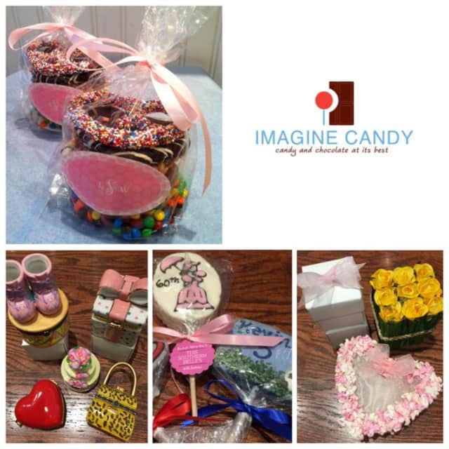 Imagine Candy, located in Scarsdale Village, sells party favors and sweets.