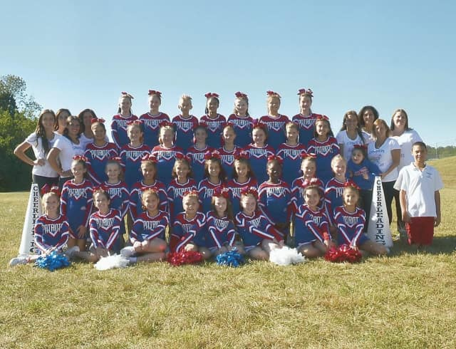 The Orangetown Patriot Cheerleaders are headed for Disney World to take part in a national cheerleading competition.