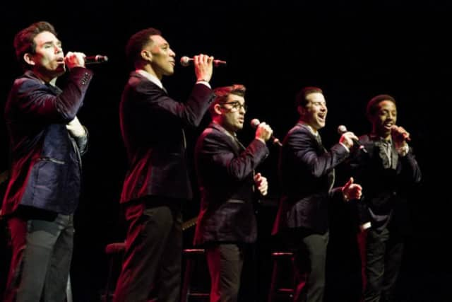 The Doo Wop Project features former and current stars of Jersey Boys and Motown the Musical