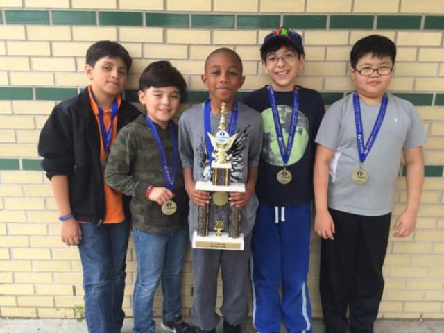 Students from Columbus Elementary School in New Rochelle recently took part in the National Chess Tournament.