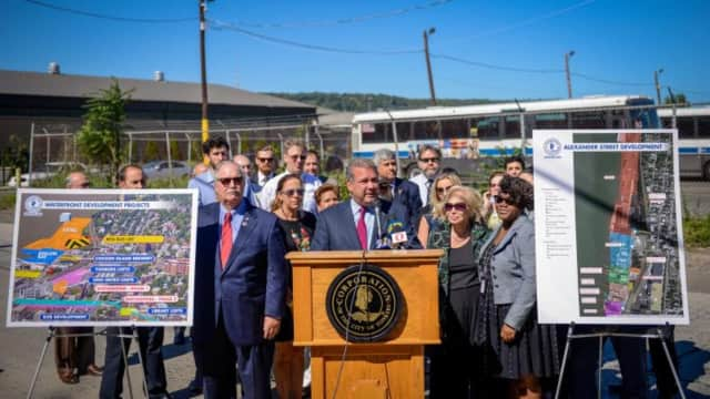 Yonkers Mayor Mike Spano is calling on the MTA to relocate its bus garage out of Westchester.