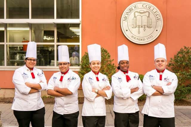 The Culinary Institute of New York competition team from Monroe College was recently named the Northeast regional champions.