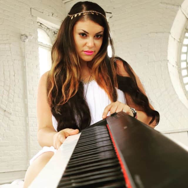 New Rochelle native Michelle DeAngelis will perform during this weekend's Ridgefield Gone County BBQ Festival.