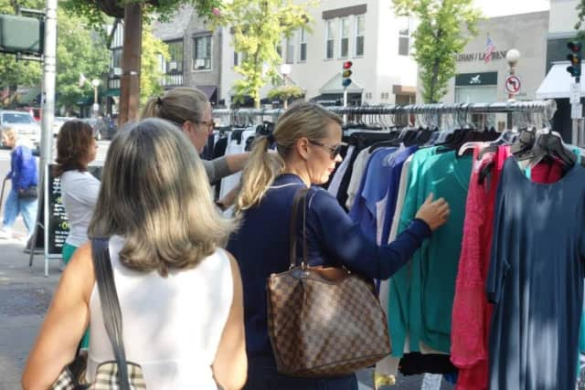 Each year, the Fall Sidewalk Sale is one of the Bronxville Chamber of Commerce's largest events.