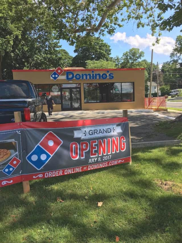 The new Domino's Pizza in Bethel will hold its grand opening on Saturday morning.