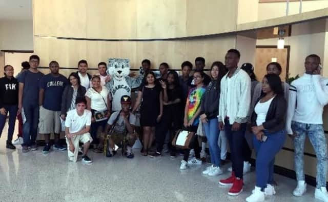 Students from New Rochelle, Mount Vernon and Nelson Mandela high schools enjoyed a three-day, two night college tour funded by the Westchester Community Foundation.