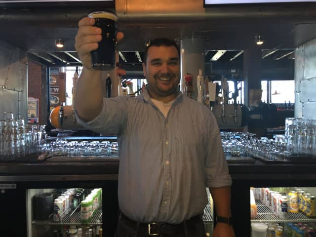 Ryan Slavin,  managing partner of Local Kitchen and Beer Bar in Fairfield.