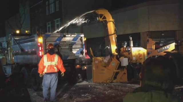 New Mount Vernon Mayor Richard Thomas has been active in seeking assistance to remove the snow from his city.