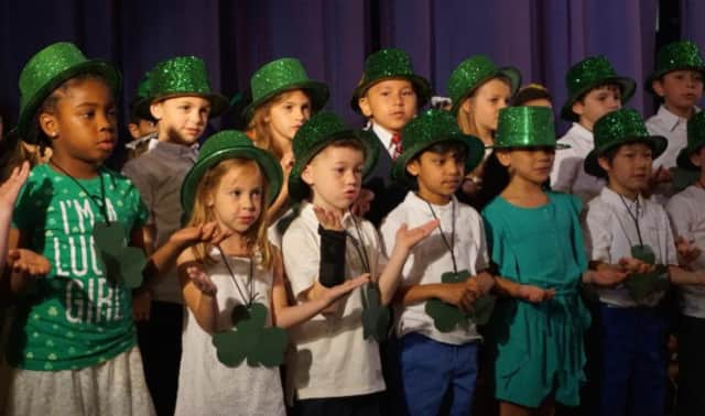 New Rochelle kindergarten students recently celebrated the end of the school year and the fact that they will become first-graders next year.