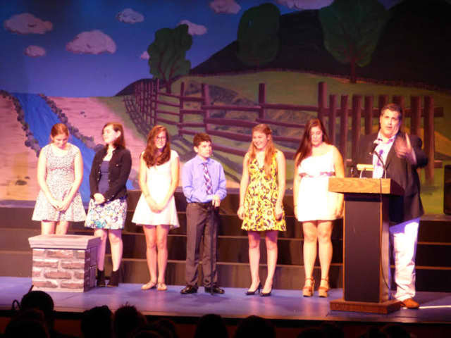 """SOOP Theatre Company of Pelham Manor won four awards at the National Youth Arts Awards, including for Outstanding Production for its version of """"Mary Poppins."""""""