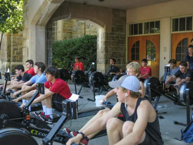 Rye High rowers will hold their annual fundraising ergathon on Saturday at Rye Recreation Center.