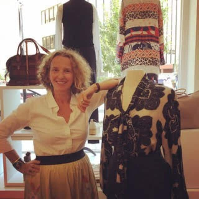 Maria Drattell of mDrattell in Larchmont offers beautifully made clothing that can be built upon as the years go by.