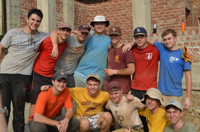 Students from Iona Prep recently took a mission trip to Peru, where they worked helping those less fortunate.