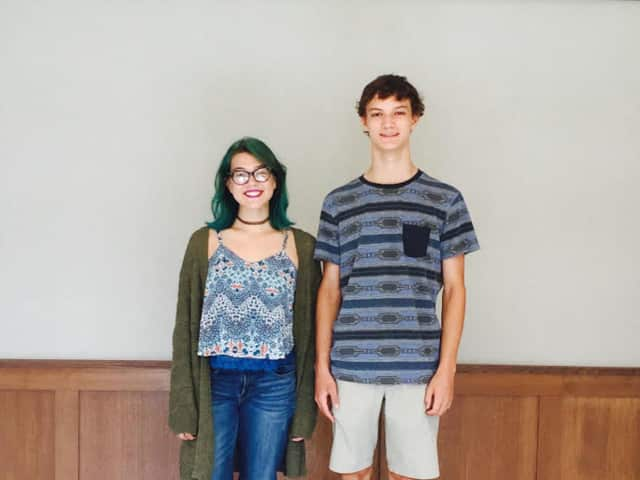Bronxville High School senior Alekzandra Thoms (left) and junior Michael Landy have been selected to perform in the All-State Festival of the 2015 NYSSMA Winter Conference in December.