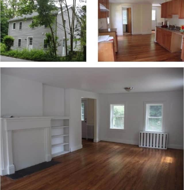 A photo collage of the Croton Falls home.