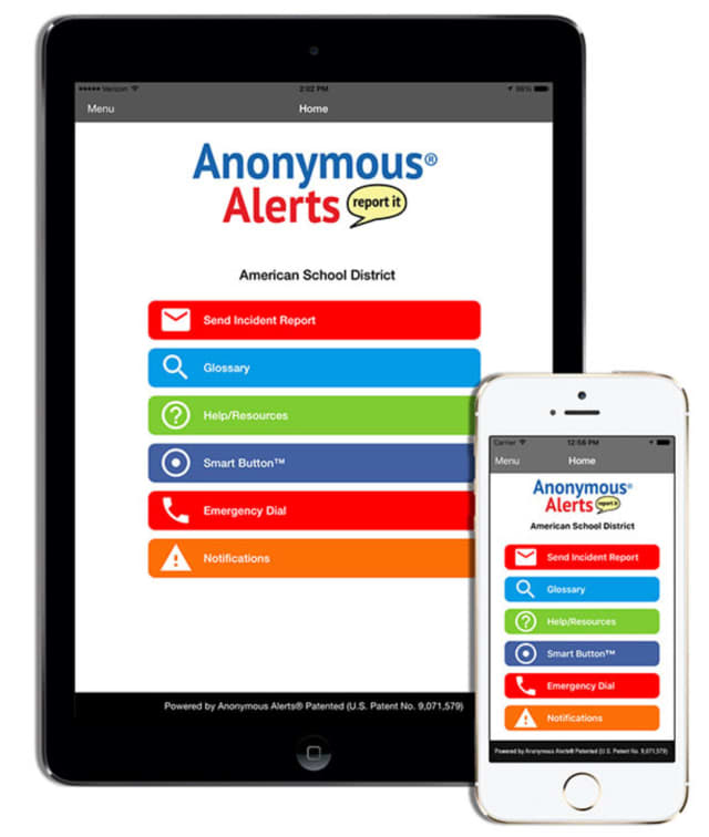 Annonymous Alerts, an anti-bullying app created in White Plains received national recognition from District Administrators magazine.