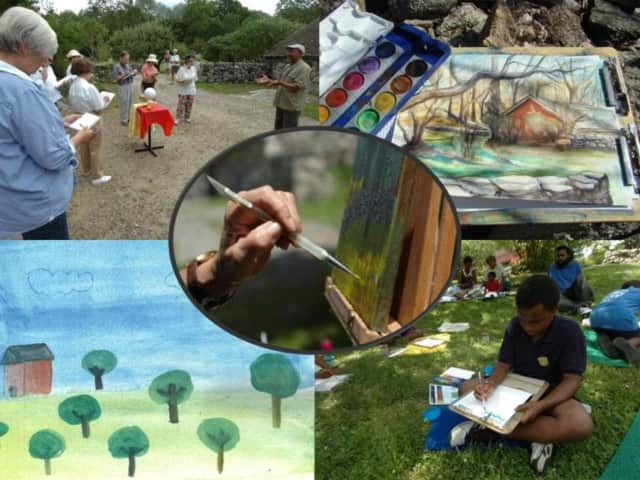 """""""Art In the Park: Impressions of Weir Farm"""" is now on display at the G&B Cultural Center in Wilton. A reception and celebration will be held Friday for the artwork inspired by Weir Farm National Historic Site."""