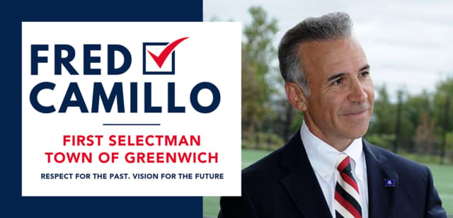 "Republican State Rep. Fred Camillo was being linked to President Trump in a hotly congested election for Greenwich First Selectman on Tuesday, Nov. 5. A similar ""Trump effect"" was being reported in other Conneticut"