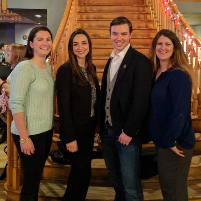From left: Tara Keegan, Marykate Acquisto, Nick Fannin and Sarah Greene