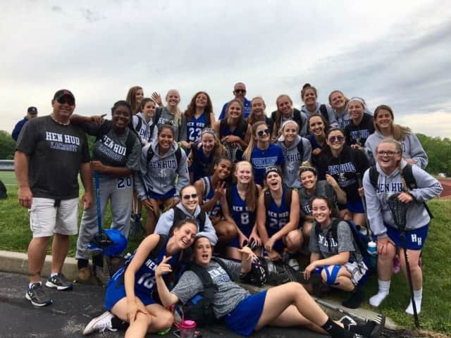 The Hendrick Hudson Girls Lacrosse Team