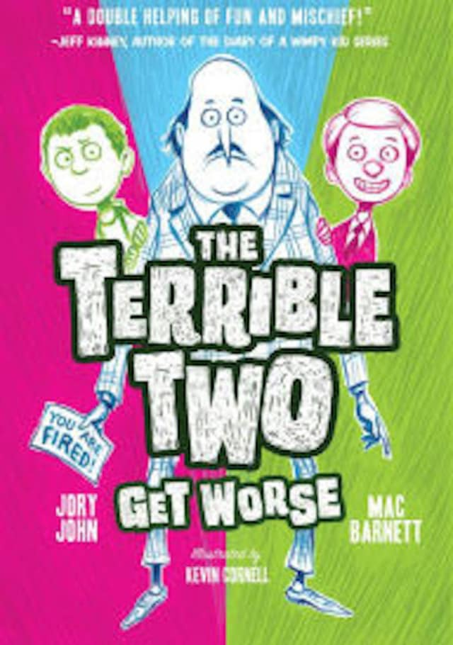 """New York Times best-selling authors Jory John and Mac Barnett will be visiting the Norwalk Public Library to talk about their first collaboration, """"The Terrible Two Get Worse."""""""