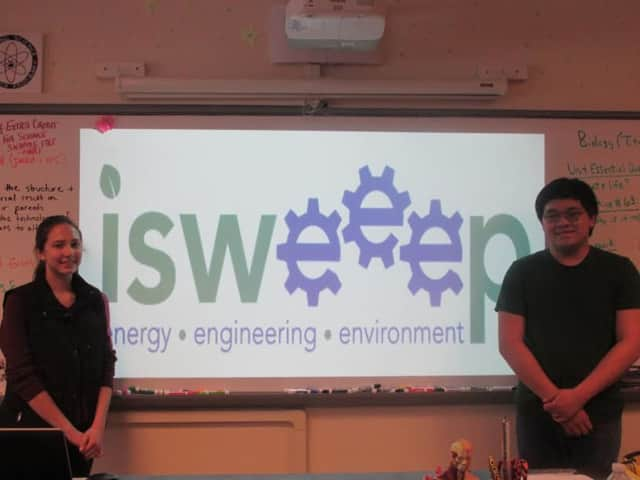 Pawling High School students Dawn Kershaw and Matthew Badia, both seniors, have been chosen to present projects at the International Sustainable World Engineering Energy Environment Project conference in Houston this May.