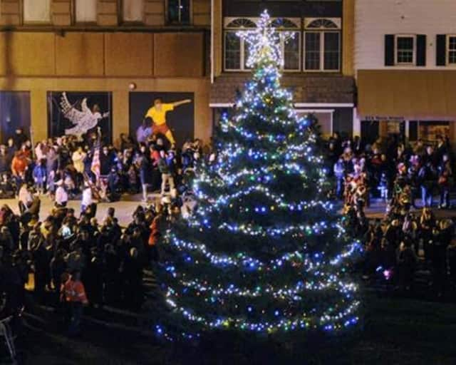 Holiday festivities in Poughkeepsie kick off Friday with a tree-lighting parade and fireworks display.