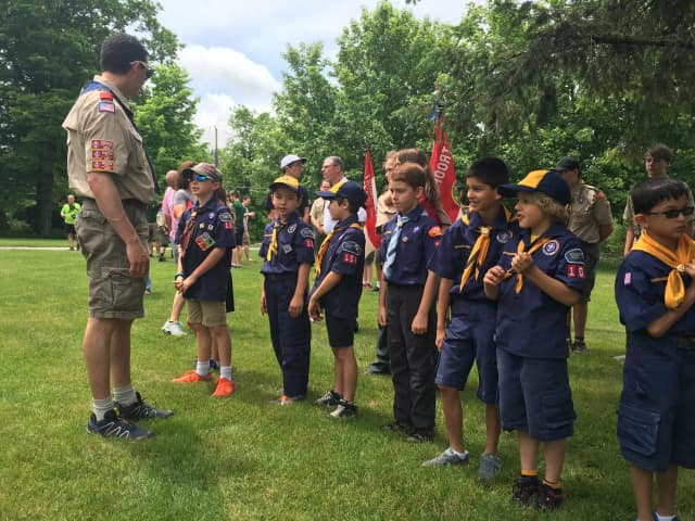 Lewisboro Cub Scouts will help at Friday's pancake breakfast for veterans.